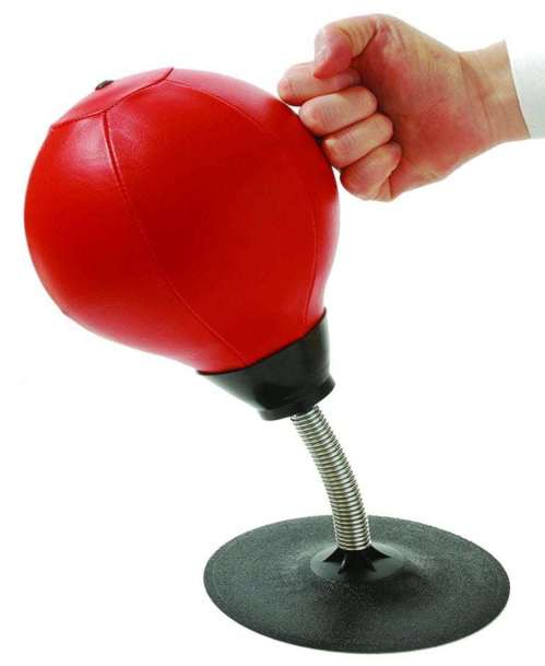 Best Coworker Gifts 2019: Desk Mini Punching Bag for Stressed Boss 2020