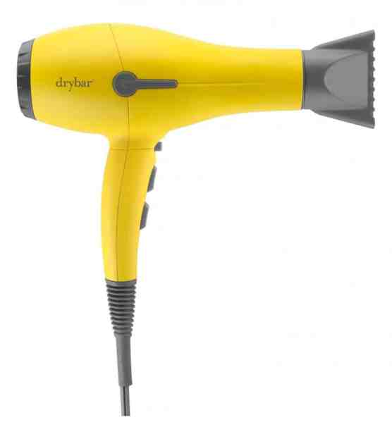Best Gifts For Her 2019: Dry Bar Buttercup Yellow Hair Dryer for Wife 2020