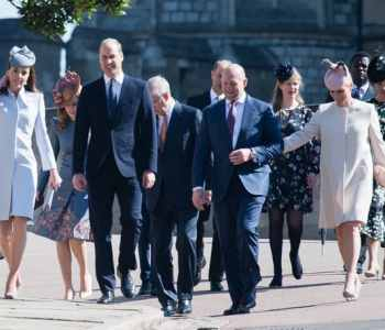 [2020] UK Royal Family attended Easter Sunday Service at St. George's Chapel