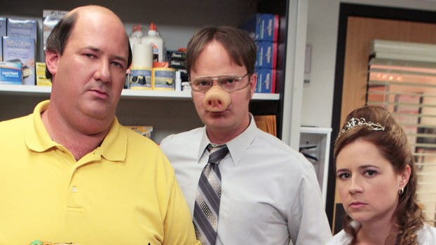 "17 Fascinating Halloween Costumes Ideas ""The Office"" Fans"