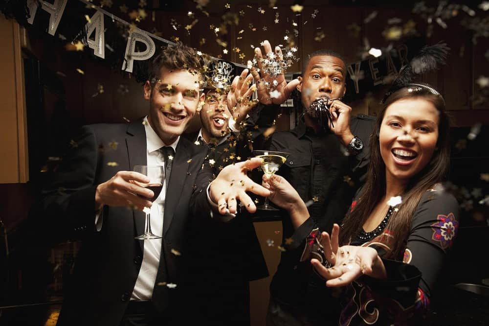 The 14 Types of People at Your Average New Year's Eve Party