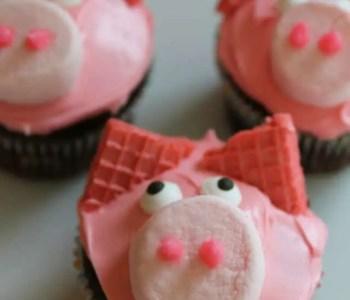 [2020] Piggy Birthday Cupcakes