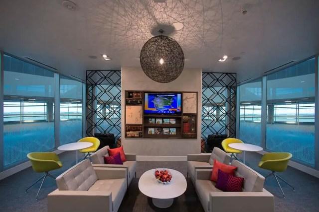 Centurion Lounge in Miami International Airport