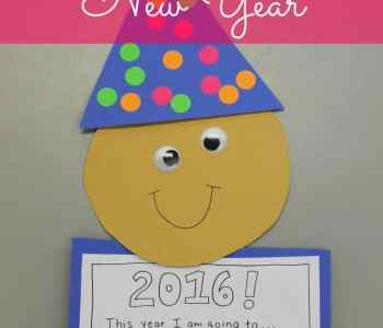 [2020] Easy New Year's Craft for Preschoolers