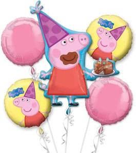 Piggy Birthday Cupcakes