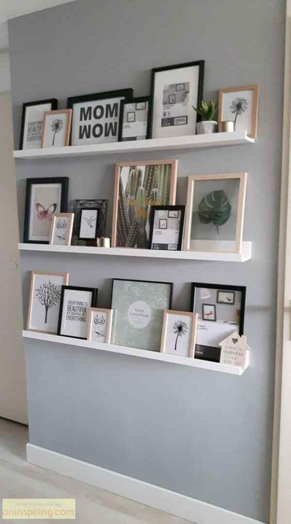 gallery wall shelves hanging gallery frame set gallery wall inspiration gallery wall with shelves picture frame gallery wall