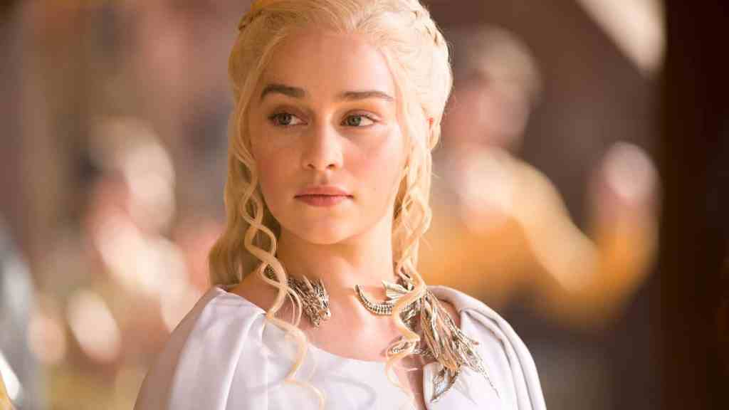 Game of Thrones,Series 5,Episode 9,Dance of Dragons,Sky Atlantic.  Clarke, Emilia as Daenerys Targaryen.