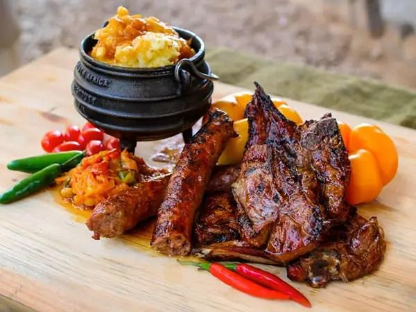 South Africa cuisine