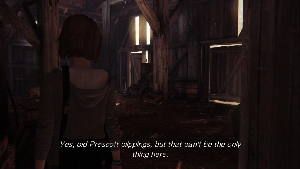Creepy Prescott Barn