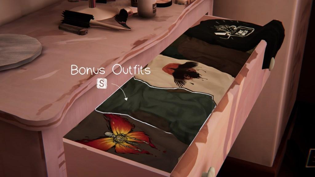 I got the bonus outfits