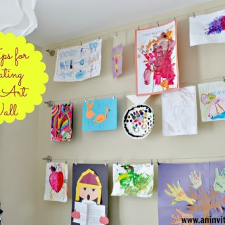 5 Tips for Creating An Art Wall