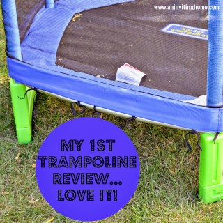 My First Trampoline Review ~ LOVE It!