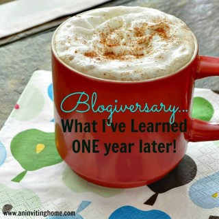 A Blogiversary And Some Of My Favorite Posts