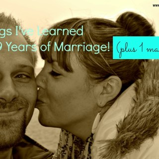10 Things I've Learned After 10 Years of Marriage