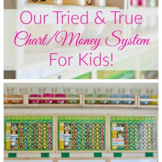 Our Tried & True Chart/Money System For Kids!