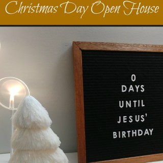 5 Tips for Hosting a Christmas Day Open House