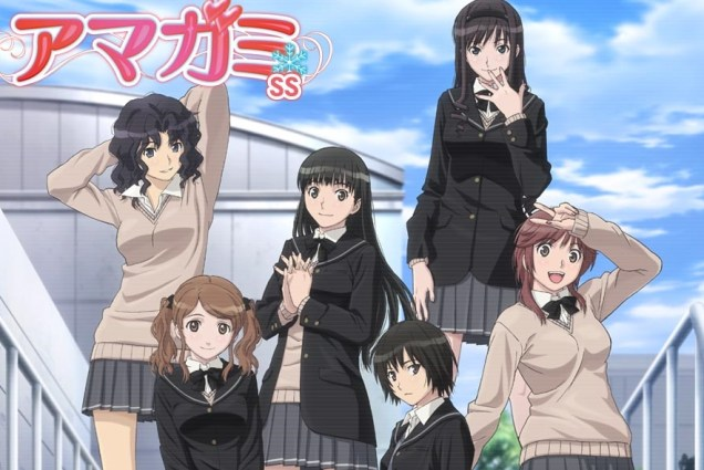Amagami SS+ Plus Episodes 1 and 2