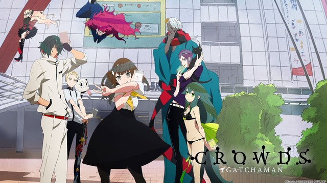 Gatchaman Crowds review