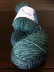 Deep green Envy Twinkle Toes Sock, 75 percent wool, 25 percent nylon, 100g and 420 metres