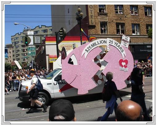 補述 96.06.24 舊金山同性戀大遊行(下)