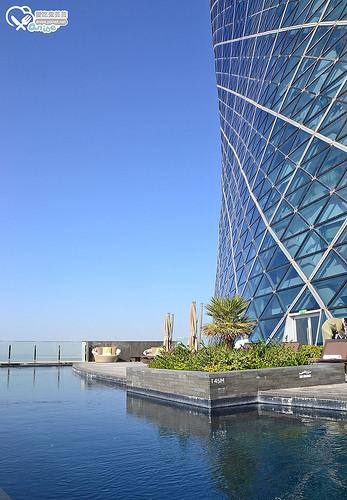 阿布達比首都門凱悅酒店Hyatt Capital Gate, Abu Dhabi@ 杜拜小旅行