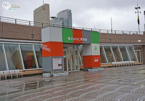 橫濱景點.日本丸橫濱港博物館,聽說Pizza是招牌(咦?)