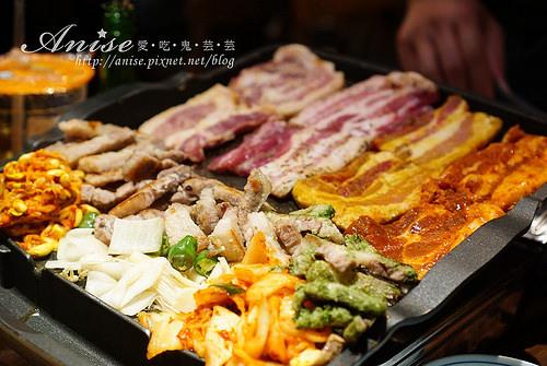 台北東區也有八色五花豬!娘子韓食天天爆滿~@@