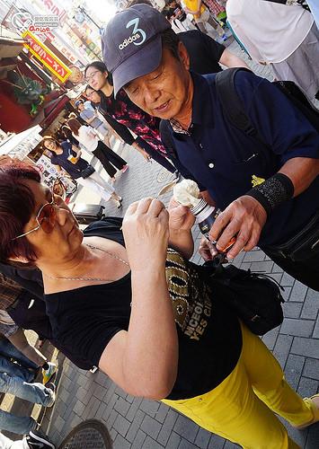 大阪道頓崛美食:元祖串炸、元祖大阪たこ焼 あつちち本鋪章魚燒、PABLO蛋糕