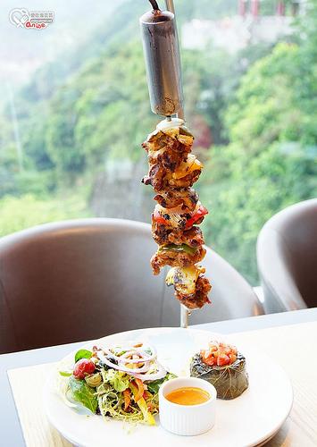 香港美食.Wildfire ,太平山頂上看風景、享超巨大Pizza