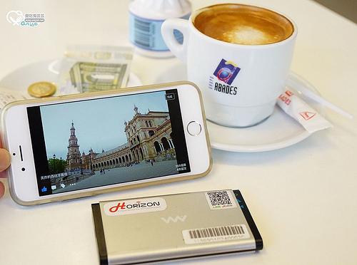 西班牙上網:赫徠森Horizon-wifi.,最低289/日起