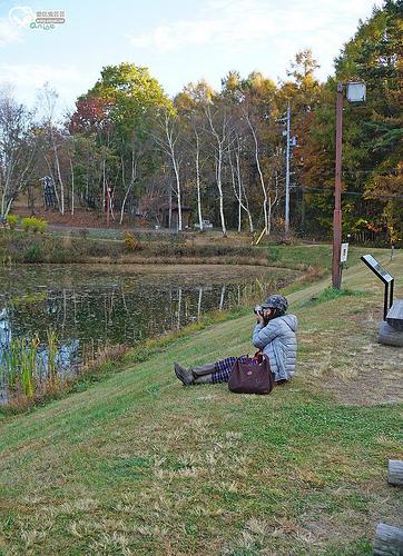 長野賞楓:八ヶ岳自然文化園まるやち湖、茅野市蓼科湖