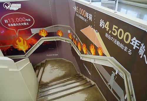鹿兒島.櫻島,世界上僅存的幾座活火山之一