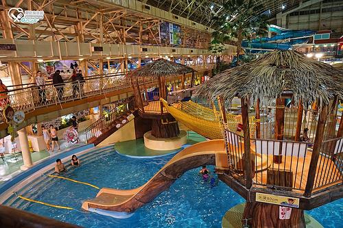 Spa Resort Hawaiians夏威夷度假村,親子避寒最佳去處,小朋友玩翻天啦!
