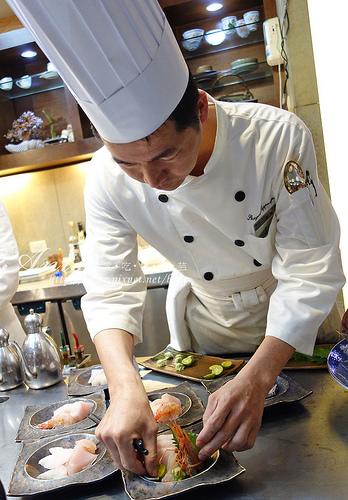 羅東.饗宴鐵板燒,傳說中周董的愛,我們獲得了一生難得見一次的超大白鯧生魚片!