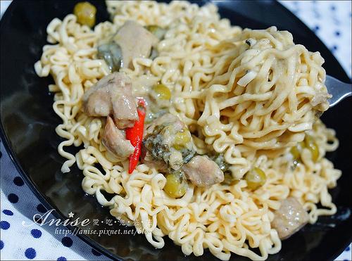 小廚師綠咖哩雞榨菜肉絲麵_026