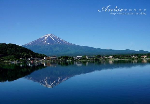 富士山河口湖.湖之飯店,面對富士山的平價湖景房