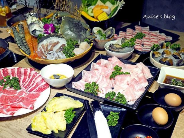 內湖火鍋.團緣涮涮屋,超彭湃海鮮拼盤平價又新鮮,肉品原塊現切品質有保障
