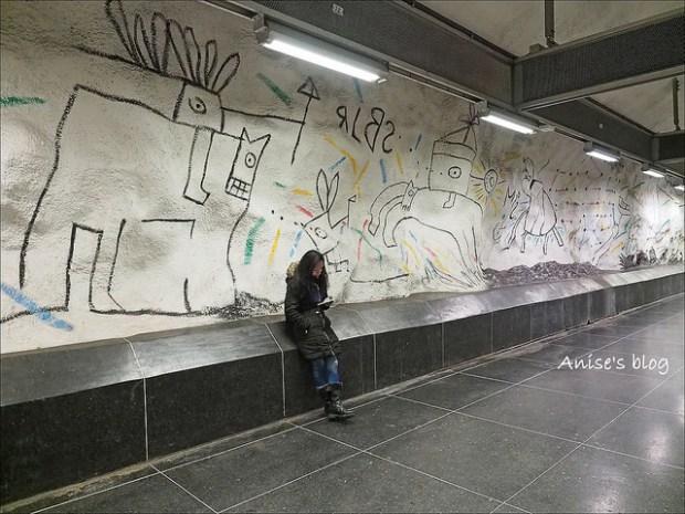 斯德哥爾摩藝術地鐵027