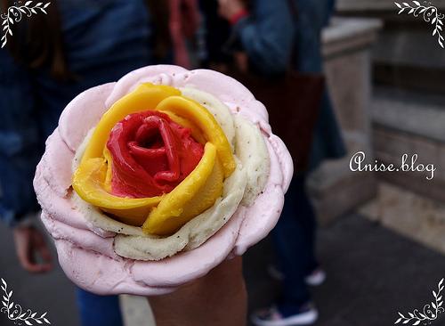 布達佩斯美食.花朵般美麗的Gelarto Rosa冰淇淋,tripadvisor布達佩斯甜點排名No.2! @愛吃鬼芸芸
