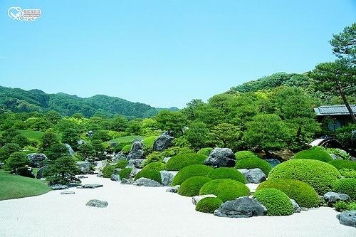 島根旅遊.日本第一庭園足立美術館美食之大觀喫茶、輕食 @愛吃鬼芸芸