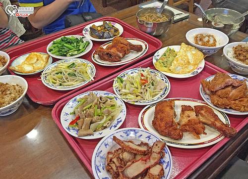 丸林魯肉飯,據說是觀光客最愛的魯肉飯、台菜 @愛吃鬼芸芸
