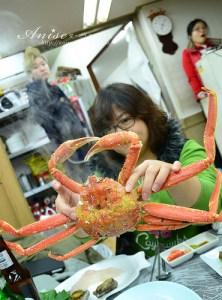 今日熱門文章:首爾美食~吸住嘴唇活章魚、活帝王蟹之鷺梁津海產市場