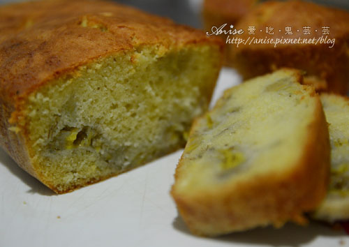 香蕉磅蛋糕I、II (4/16補充成功版) @愛吃鬼芸芸