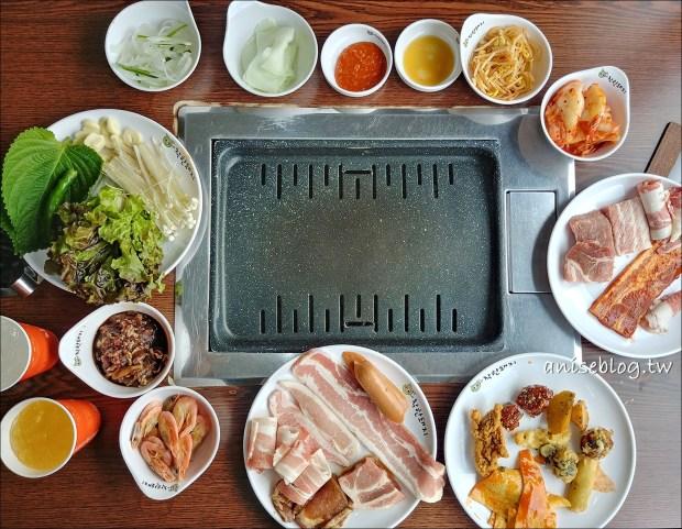 首爾烤肉吃到飽善良的豬
