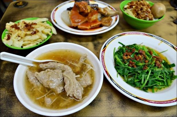 東門站美食.東門赤肉羹、甜不辣、滷肉飯、菜市場美食