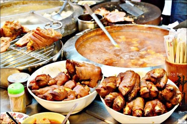 基隆廟口美食,22攤豬腳、蝦仁羹滷肉飯,第3攤酸梅湯、可可牛奶(姊姊食記)