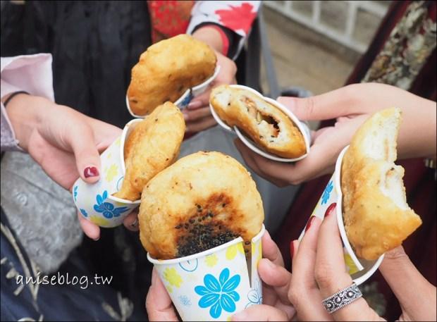 首爾美食.三清洞摩西(安國站起司年糕鍋)、三清洞甜餅