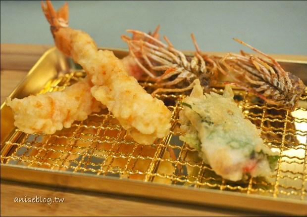 吉天婦羅Kichi   東區SOGO忠孝館美食,正統天婦羅一道道現炸新鮮上桌(鍍24K金的唷!)