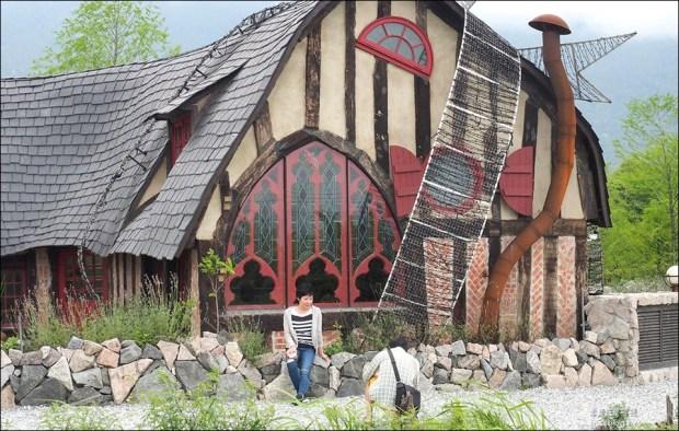 花蓮童話屋 (Mr. Sam ),台9線226.5公里處的可愛咖啡廳