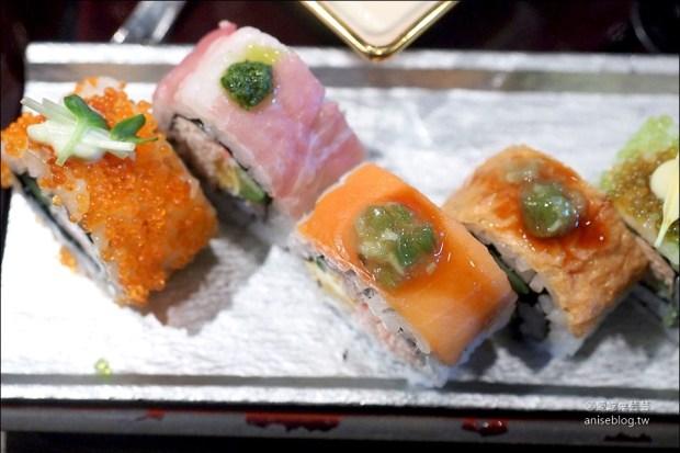 銀座超值商業午餐 | SHARI THE TOKYO SUSHI BAR,優雅美麗的彩虹壽司 ...